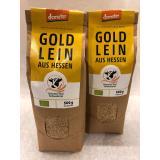 Bio Leinsamen, gold