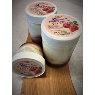 Fruchtjoghurt Erdbeer, groß