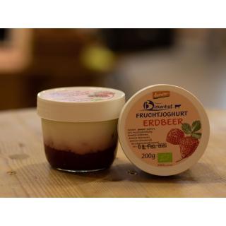 Fruchtjoghurt Erdbeer, klein
