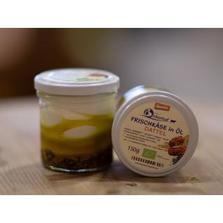 Frischkäse in Öl, Dattel, 30 % Fett i.Tr.