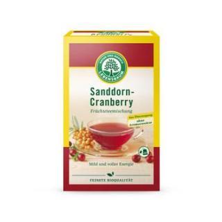Sanddorn-Cranberry Früchtetee
