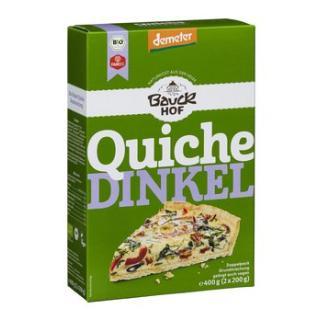Quiche, Dinkel