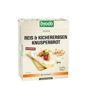 Reis & Kichererbsen Knusperbrot