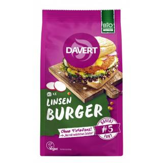 Linsen Curry Burger