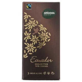 Edelbitter Schoko. Ecuador 70%