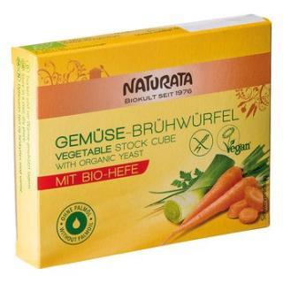 Gemüse Brühwürfe mit Biohefe