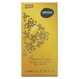 Dunkle Vollmilch Schokolade Brasilien 50%