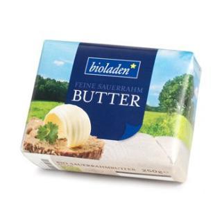 bioladen Butter, Sauerrahm