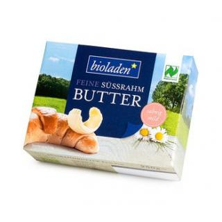 bioladen Butter, Süßrahm