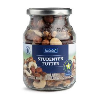 b*Studentenfutter 47%Nüsse % 53% Trockenfrüchte