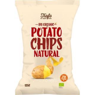 Chips gesalzen, Kartoffel