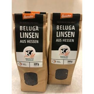 Schwarze Bio Linsen, Beluga