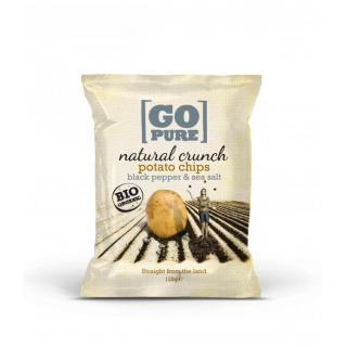 Natural crunch black pepper & sea salt